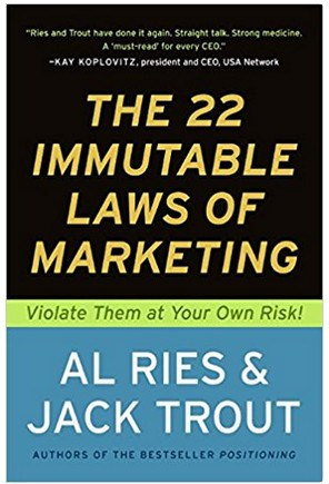 Marketing books pertaining to the essential marketing rules one should always follow.