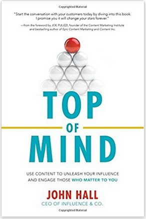 Top of Mind marketing book, useful for any business owner.