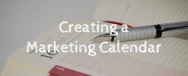 Creating a marketing calendar for your blog