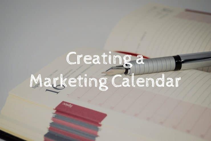 Creating a marketing calendar for your blog