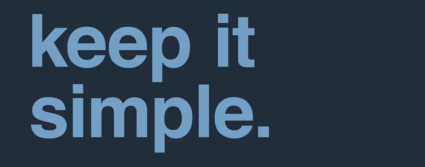 Write in a clear and simple manner.