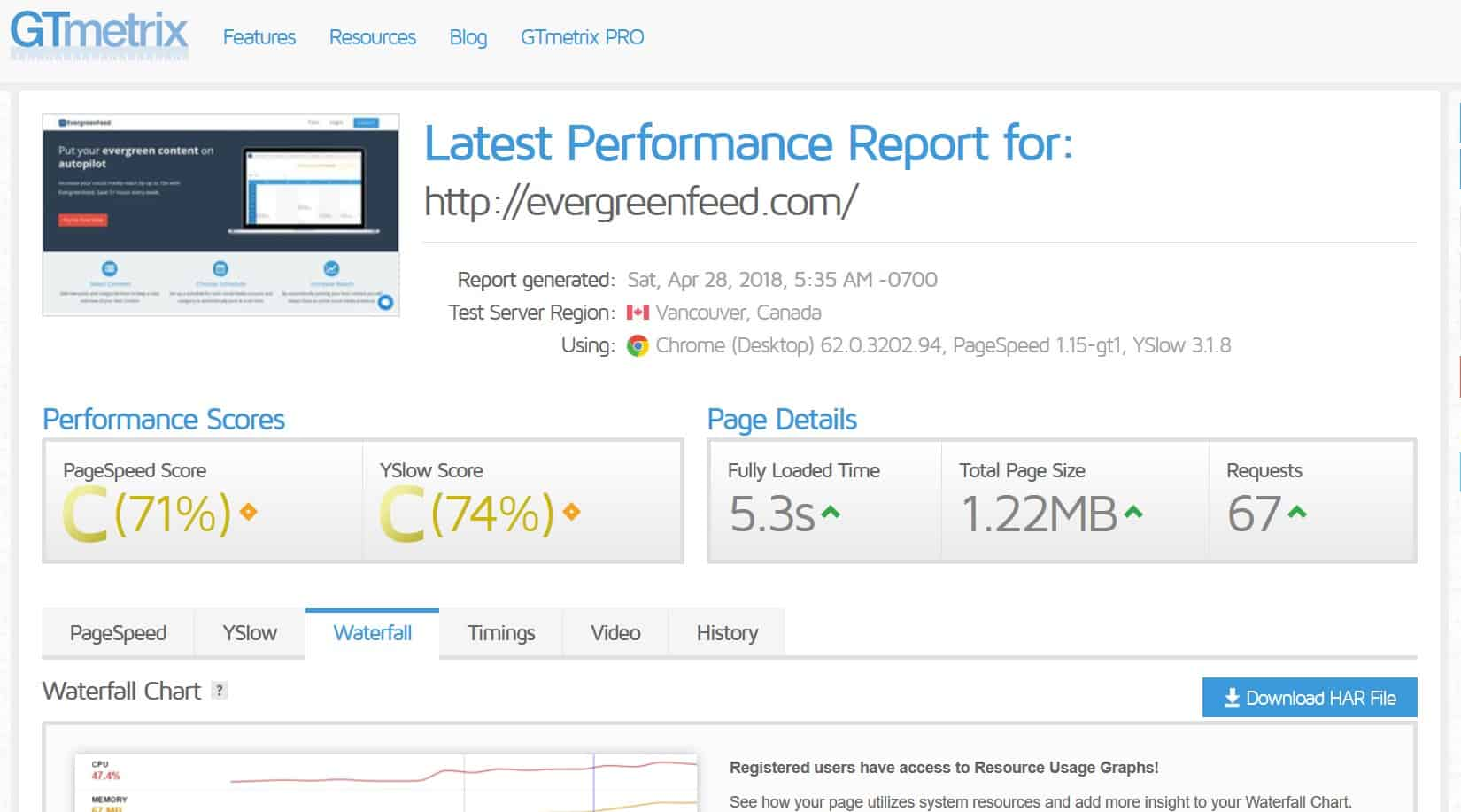 One of the best website audit tools available.
