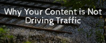 Content marketing strategy is not generating the results you had hoped.